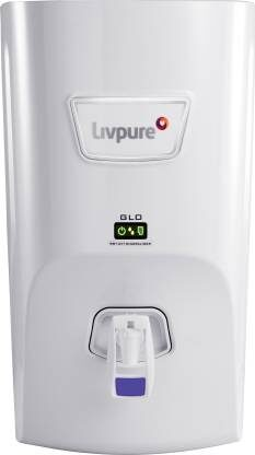 Livpure Glo 7 liters RO+UV+ Mineralizer Best Water Purifier in India