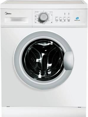 Midea 7 kg Fully Automatic Front Load Washing Machine with In-built Heater White  (MWMFL070HEF)