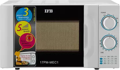IFB 17 L Solo Best Microwave Oven in India (17PM MEC 1, White)